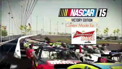 NASCAR '15 Victory Edition Career Mode Ep. 1