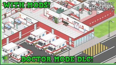 Let's Play Project Hospital - Doctor Mode - Ambulances 🚑