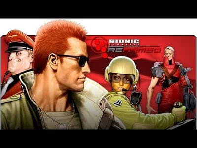 Bionic Commando Rearmed- Game Video