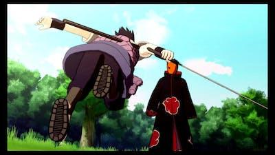 Sasuke plans to find Naruto - Naruto Shippuden Ultimate Ninja Storm 3 Game