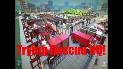 Trying Out Rescue HQ!!! (What Do You Guys Think?)