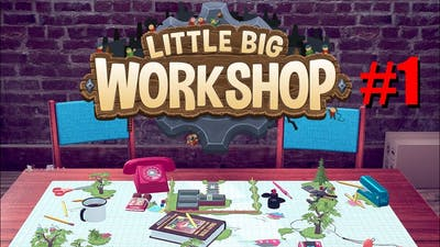 Little Big Workshop! Gnome crafting Gnome factory #1