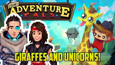 GIRAFFE TONGUE HELICOPTERS | The Adventure Pals #1