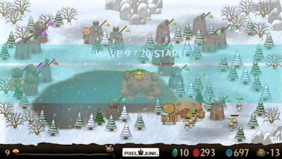 PixelJunk Monsters Ultimate - Team Hard 3 - Pond Patrol failed