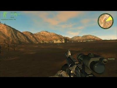 Delta Force Xtreme 2 (Sand Trap) Mission Desert Rat ! PC Gameplay
