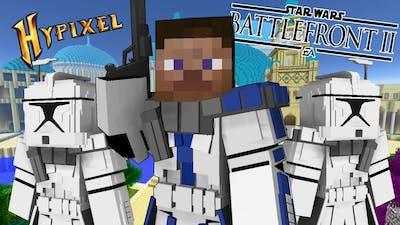 This Minecraft STAR WARS Battlefront II Mod is EPIC! - Minecraft: Hypixel Star Wars Battle
