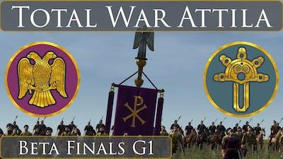 Total War Attila : Tournament Battle : Beta Finals G1