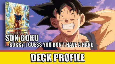 Hand Control Goku (G)   DBS Deck Profile