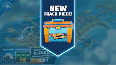 Hot Wheels Unlimited Daily Track Challenge New Unlock Track Piece Bone Shaker Stunt Race Android/IOS