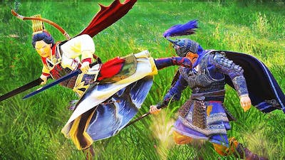 Heroes Duels with Reign of Blood DLC. Total War Three Kingdoms cinematic battle machinima