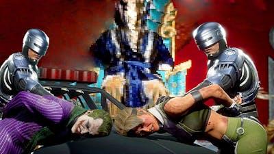 MORTAL KOMBAT 11 RoboCop Arresting All Kombatants MK11 Aftermath