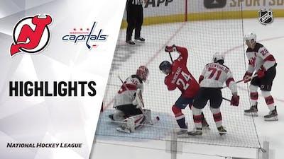 Devils @ Capitals 9/29/21   NHL Highlights