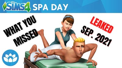 What you MISSED from the Sims 4 Spa Day leak