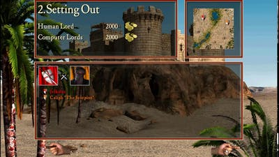 Stronghold C.1,  first and second Missions