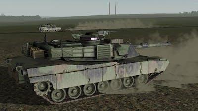 Abrams M1A2 vs T-34 ! Epic Tank Battle in War Game Men of War Assault Squad 2 Cold War Mod