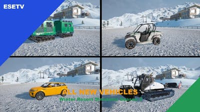 All new vehicles, Winter Resort Simulator Season 2 gameplay