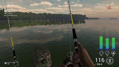 Fisherman Fishing planet catching everything