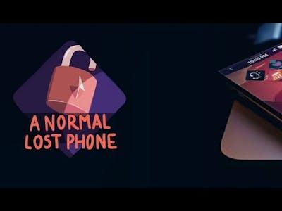 A Normal Lost Phone -full game Walkthrough    RexTech   