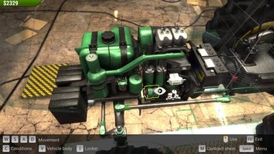 Farm Mechanic Simulator 2015 How to Change Oil and Brake Drums