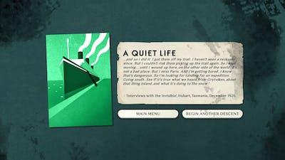 Cultist Simulator [Exile] - A Quiet Life in 9:56