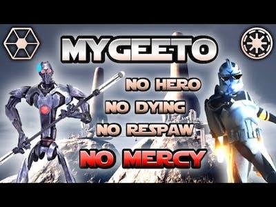 Gameplay Star Wars Battlefront II (Classic) - Mygeeto