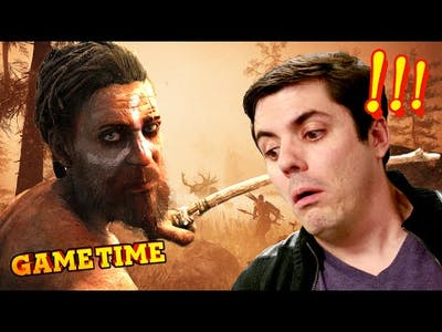 FARCRY PRIMAL: RISE OF FIRE DEMON BEAR (Gametime w/ Smosh Games)