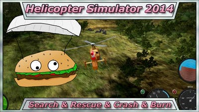 Lets Try Games - HELICOPTER SIMULATOR 2014 - Search & Rescue & Crash & Burn