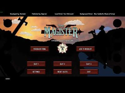 The Magister Beta / Gameplay / No voice / Walkthrough / PC Steam game / HD 1080p60FPS