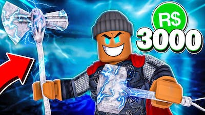 """I spent 3,000R$ & bought the """"STORMBREAKER"""" PAPER BALL!! (Roblox)"""