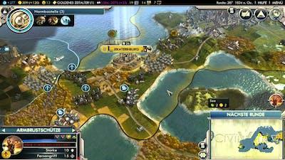 Let's Play Civilization 5 HD Part 40 - Kriegsproduktion
