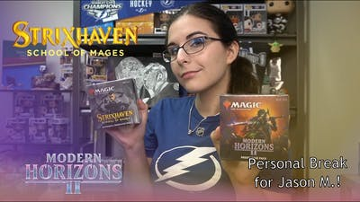 That's a Lot of Mythics | MTG MODERN HORIZONS 2 & STRIXHAVEN SILVERQUILL PRERELEASE KITS FOR JASON M