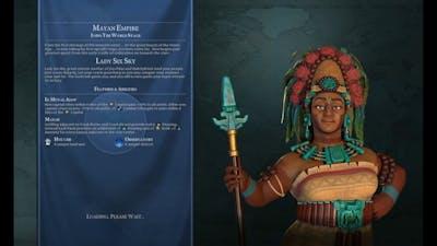 Civ VI Maya Domination Deity Huge Detailed Continents Marathon Blowing 3 Million Gold! 62