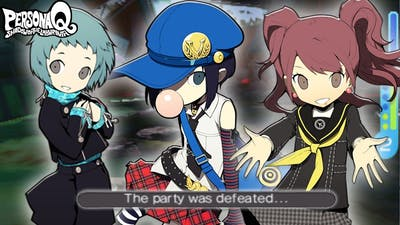 Persona Q | Fuuka, Rise & Marie's Reactions to Everyone's Death