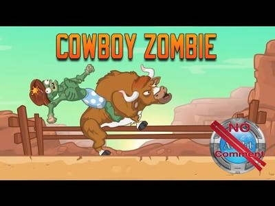 Cowboy zombie Gameplay no commentary