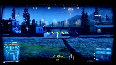 Battlefield 3 Tank Superiority Death Valley Armored Kill DLC Ps3 Gameplay 720p Part 2