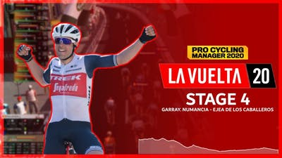 LA VUELTA 2020 - STAGE 4 | PRO CYCLING MANAGER 2020