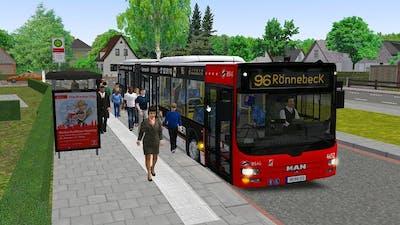 OMSI 2 Add-On Bremen Nord - MAN Lions City - Line 96 Rönnenbeck