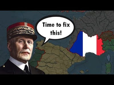 Petain retakes France (Darkest Hour A Hearts of Iron Game)