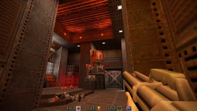 Quake II Mission Pack: The Reckoning | Lower Hangars (15/19)