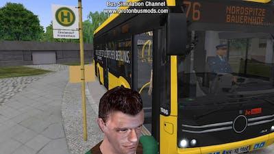 OMSI 2 - Add-On E-Bus Hamburg
