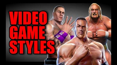 Different VIDEO GAME Wrestling STYLES