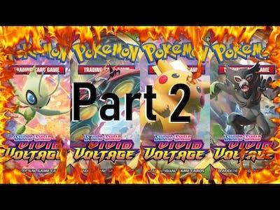 PART 2!!! RETURN OF VIVID VOLTAGE!!! Pokemon Vivid Voltage Booster Box Unboxing!!!