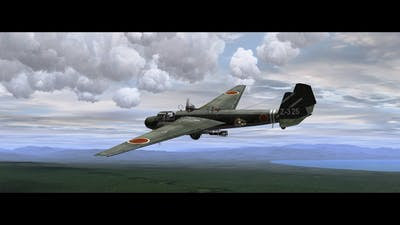 IL2 1946 G3M2 22 type96 bomber NELL