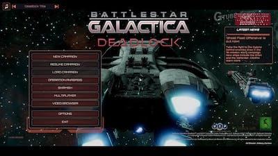 Battlestar Galactica Deadlock Ghost Fleet Offensive - Game Play [영문판 게임플레이]