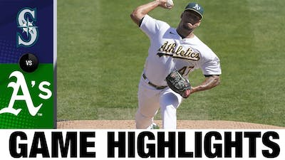 Frankie Montas K's 13 in Athletics' 6-2 win | Mariners-Athletics Game Highlights 9/27/20