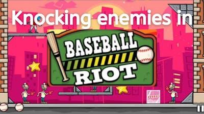 Playing baseball riot game and winning it ||Gameplay of baseball riot || Innocuous gamer