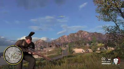 Sniper Elite 4 Even More Kills Gameplay