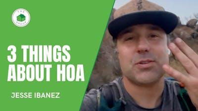 3 Things about HOA - HOA Game | Trail Talks