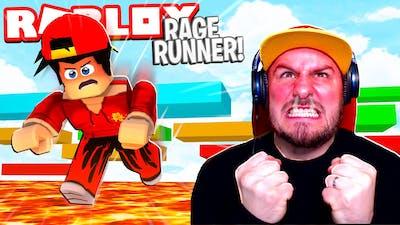 Roblox RAGE RUNNER.... I RAGE QUIT!