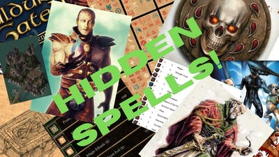 Top 8 Hidden Spells in Baldur's Gate 2! Only available from the game files...